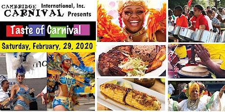 Taste of Carnival tickets