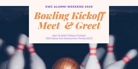 EWC Alumni Weekend 2020 Bowling Kickoff Meet and Greet tickets