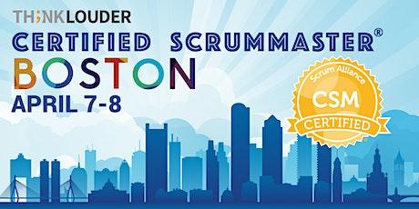 Boston Certified ScrumMaster® Workshop (CSM) - Apr 7-8 tickets