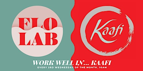 Mindful Coworking Meetup: Work Well In... Kaafi tickets