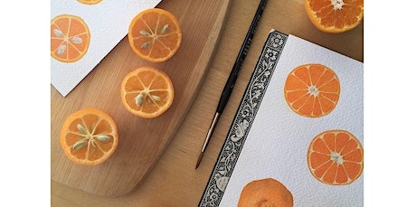 Watercolor Workshop: Painting Citrus with Sophie Tivona (02-23-2020 starts at 1:00 PM) tickets