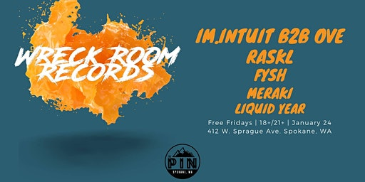 Free Fridays: Wreck Room Records Takeover at The Pin