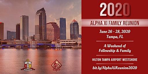 2020 Alpha Xi of Kappa Alpha Psi Family Reunion