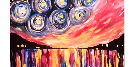 Starry Night Sunset - Belgian Beer Cafe