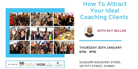 How To Attract Your Ideal Coaching Clients tickets