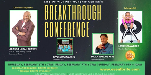 Life of Victory Worship Center Breakthrough Conference