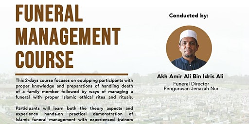Islamic Funeral Management Course