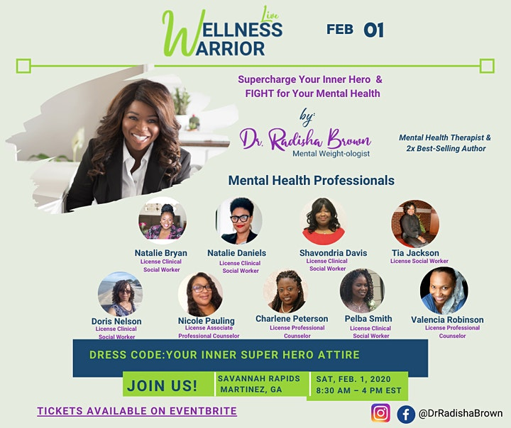Wellness Warrior Live- Supercharge Your Inner Hero & Conquer Life's Battles image