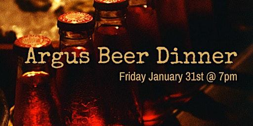 Chuck's & Argus Beer Pairing Dinner