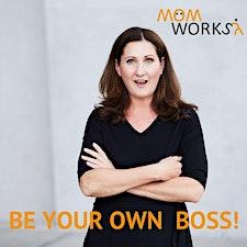 MomWorks logo