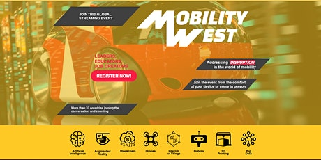 Mobility West - Disruptive Technology and Transportation tickets