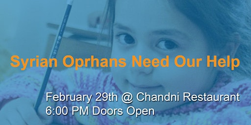 Syrian Orphans Need Our Help