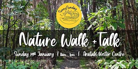 Nature Walk + Talk tickets