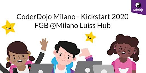 Coderdojo Milano - Kickstart 2020 - Presso FGB @Milano Luiss Hub