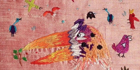 Selvedge Workshop: 25 April 2020, Stitching a Story with Gina Ballinger tickets