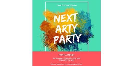 Arty Party - Create your own work of Art while having a fun night out.