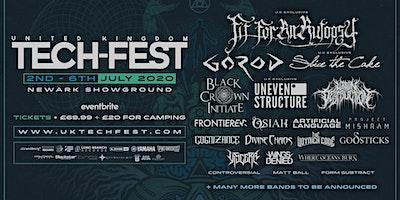 UK Tech-Fest 2020 - Technical, progressive metal festival