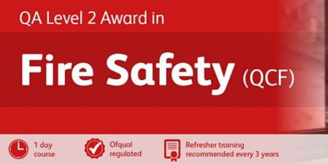 Fire Marshal / Warden Training, Level 2 RQF 1-day  tickets