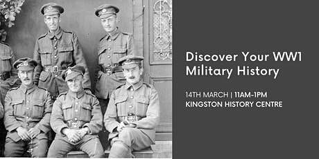 Discover Your WW1 Military Ancestors tickets