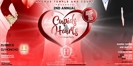 Cupids & Hearts Valentine's Party