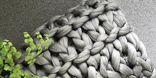 Arm Knitted Blanket Workshop