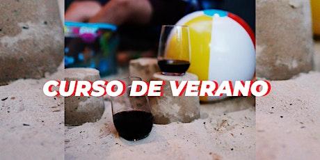 Curso de verano: charlas sobre vino (clases sueltas) entradas