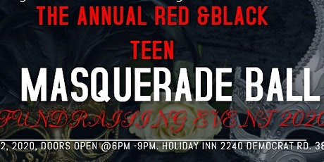 RED AND BLACK TEEN MASQUERADE tickets