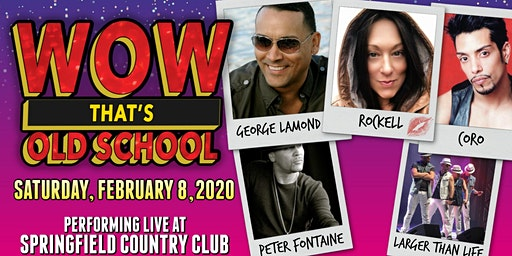 WOW That's Old Skool featuring George Lamond, Rockell, Coro & more!
