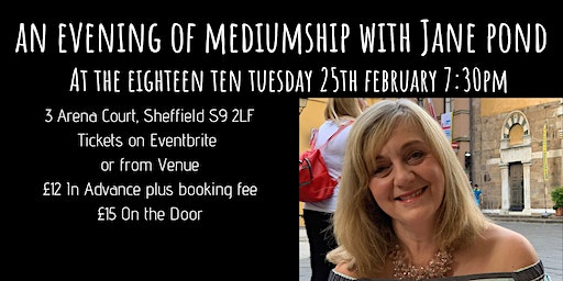 An Evening of Mediumship with Jane Pond