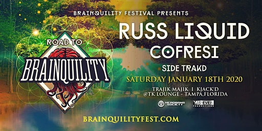 RUSS LIQUID w/ COFRESI @TK Lounge - Tampa , FL 1/18/20