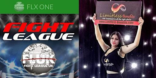 FLUK Championship Boxing with Limitless Benefits Ring Girls Birmingham