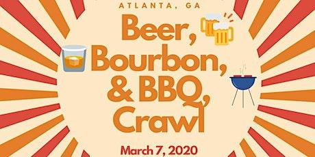 Beer, Bourbon, & BBQ Crawl: Atlanta tickets