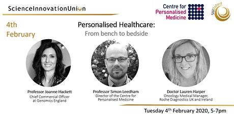 Personalised Healthcare: From Bench to Bedside tickets