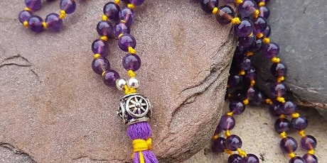 Make Your Own Crystal Japa Mala Necklace Workshop tickets