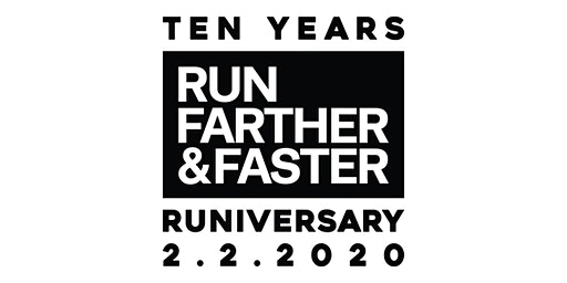Run Farther & Faster's Ten Year Runiversary Celebration!