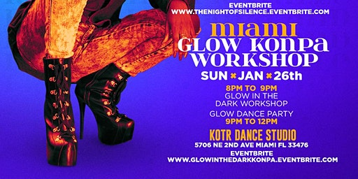 Miami:Glow In The Dark Konpa Workshop
