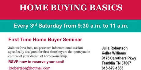 Home Buying 101 Brunch tickets