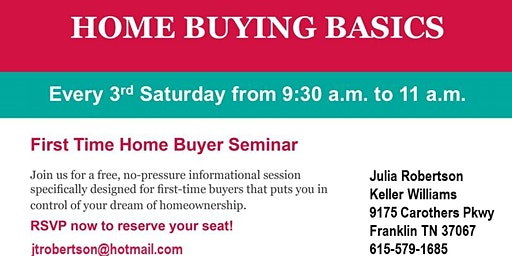 Home Buying 101 Brunch