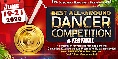 Kizomba Harmony 3rd Annual Best All Around Dancer Competition and Festival 2020 tickets