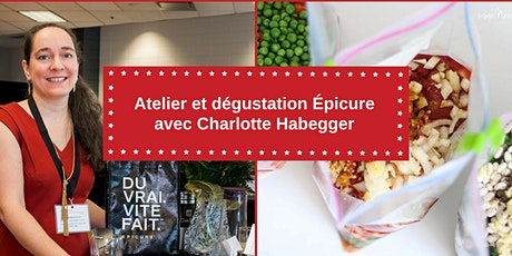 Atelier et dégustation Épicure avec Charlotte Habegger tickets