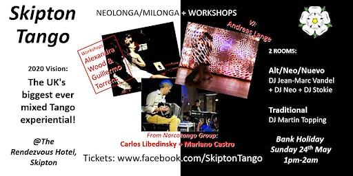 SkiptonTango's  2020 Neolonga Experiential & Milonga + Workshops