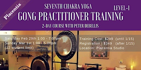 Gong Practitionar Training tickets