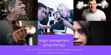 Anger Management Group Therapy (6 weeks) tickets