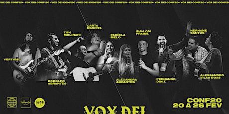 Vox Dei Conf20 ingressos
