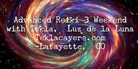 Advanced Reiki 3 Weekend April 2020 tickets