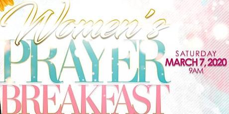 Women's Ministry of S.G. Spottswood AMEZC Prayer Breakfast tickets