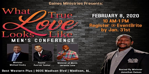 What True Love Looks Like: Men's Conference