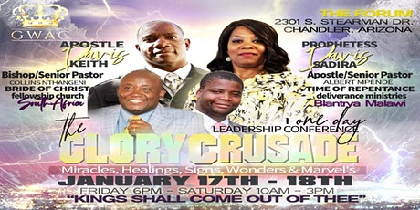 The Glory Crusade & Leadership Conference tickets