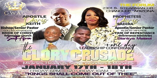 The Glory Crusade & Leadership Conference