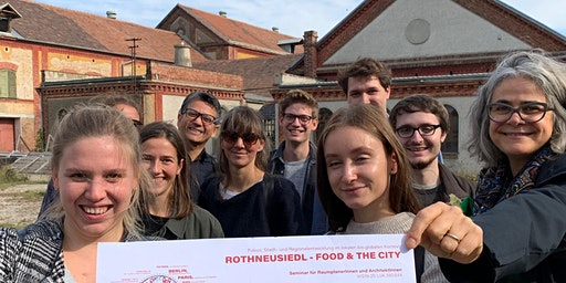 Food & the City Rothneusiedl - Öffentliche Endpräsentation der TU-StudentInnen